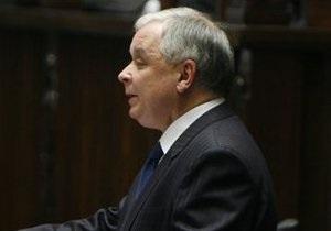 Обязанности президента Польши будет исполнять спикер сейма