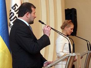 Балога назвал отчет Тимошенко  театральной постановкой с элементами фантастики
