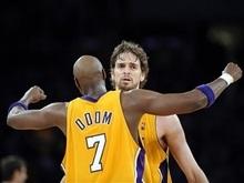 NBA: Лейкерс вырвались вперед