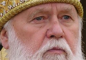 Патриарх Филарет призвал верующих проголосовать во втором туре выборов