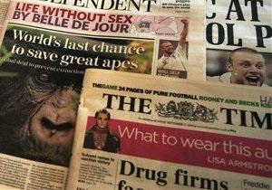 Тираж The Times упал ниже 500 тысяч экземпляров