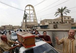 Захват храма в Багдаде: Власти Ирака призвали СМИ лишить террористов внимания
