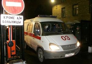 В центре Москвы в реку упал автомобиль