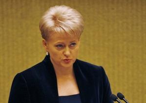 Президент Литвы назвала изоляцию Беларуси большой ошибкой
