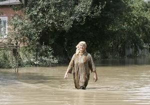 Наводнение на западе Украины: уровень воды в Пруте поднялся на полметра