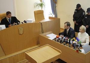 Тимошенко требует закрыть дело против нее. Суд вновь объявил перерыв