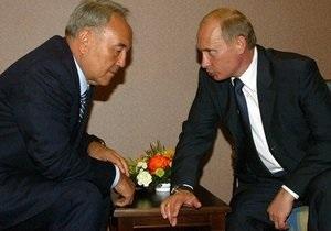 Путин поздравил премьера Казахстана с 20-й годовщиной независимости страны