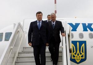 На следующей неделе Янукович посетит Польшу