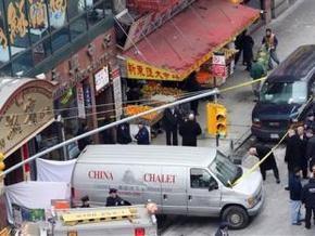 В центре Нью-Йорка пустой фургон врезался в группу детей