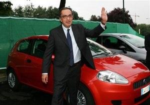 Fiat остановит все свои заводы на две недели