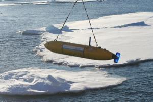 Германский подводный робот совершил первую подледную миссию
