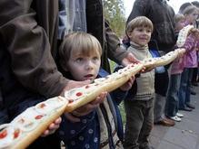 В Полтаве приготовят гигантский бутерброд с салом