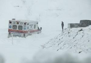 Новости США - В США бушует сильнейший за последние сто лет снегопад