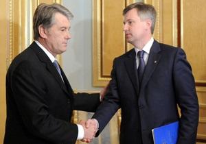 Пресс-секретарь Ющенко назвала сплетнями информацию о его конфликте с Наливайченко