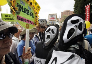 Новости Японии - новости Токио - митинг Токио - В Токио 60 тыс человек пришли на митинг против АЭС