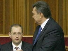Опрос: Яценюк может конкурировать с Януковичем и Тимошенко на выборах Президента