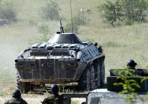 В Мали прибыла колонна французских БТР