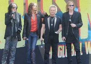 Aerosmith заканчивают работу над новым альбомом