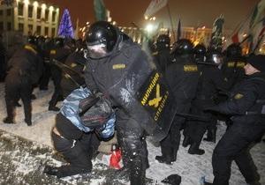 В Беларуси участник декабрьских беспорядков приговорен к трем годам ограничения свободы