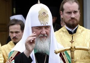 Кирилл призывает молиться о ниспослании дождя
