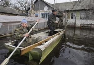 Погода в Украине - Новости Закарпатской области - В Закарпатской области из-за непогоды подтоплены дома и земли