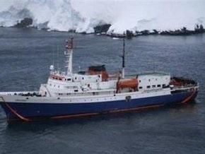 Чилийский корабль спас пассажиров круизного лайнера, легшего в дрейф в Антарктиде
