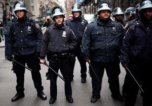 В Нью-Йорке задержаны 68 участников акции Захвати Уолл-стрит