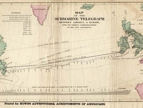 Полтора столетия назад телеграфная связь впервые соединила США и Британию