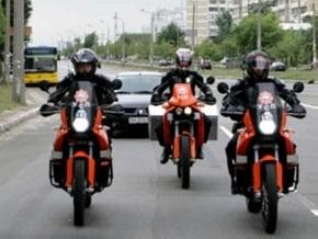 Киевская служба спасения пересела на мотоциклы