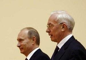 Азаров и Путин встретятся в Сочи