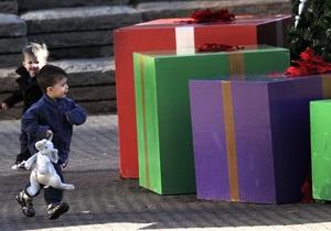 В Великобритании неизвестные украли рождественские подарки у больных детей
