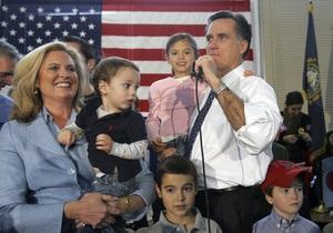 К 16 внукам Митта Ромни прибавились близнецы