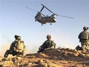 В Ираке разбились два американских вертолета
