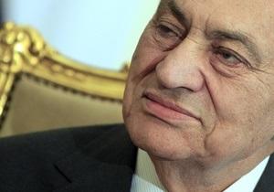 Британия заблокировала не все активы Мубарака -СМИ