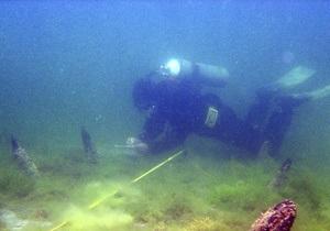 Близ острова Змеиный нашли остатки античной галеры