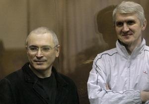 Европарламент призывает к введению санкций против российский чиновников, причастных к гонениям на Ходорковского и Лебедева