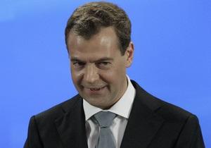Медведев уверен в победе Путина на президентских выборах