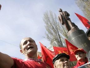 Отреставрированный памятник Ленину в Киеве откроют в пятницу
