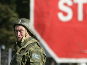 Российские миротворцы отрицают причастность к обстрелу кортежа президентов Польши и Грузии