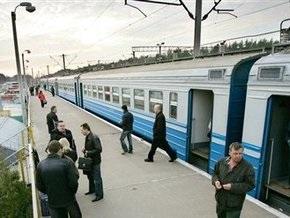 В Киевской области сгорел вагон пригородной электрички