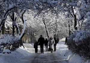 Завтра на большей части Украины столбик термометра опустится до 30-ти градусов мороза