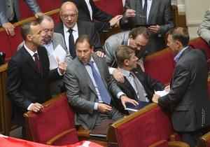 Батьківщина: Оппозиция будет блокировать Раду, если не будет персонального голосования