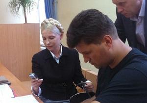 На газовых директивах не подпись Тимошенко, а факсимиле - свидетель