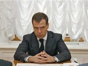 Медведев уволил начальников милиционера, устроившего стрельбу в супермаркете