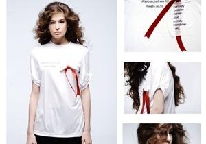 В PinchukArtCentre начали продавать футболки на тему безопасного секса