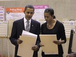 Обама проголосовал в Чикаго