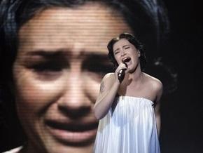 Анастасия Приходько в финале Евровидения-2009
