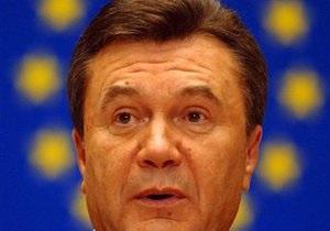 Янукович намерен просить ЕС отменить с 2011 года визовый режим