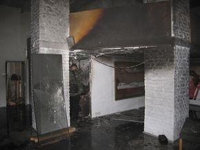 В Киеве подожгли арт-центр Я Галерея