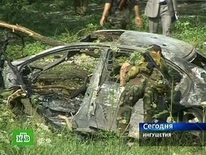 Автомобиль для покушения на президента Ингушетии угнали в Москве